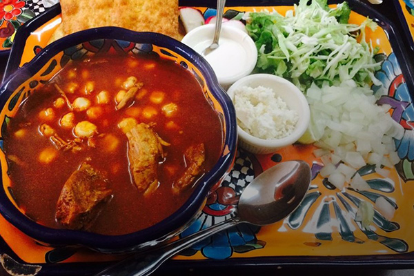 image of pozole by Amelia's
