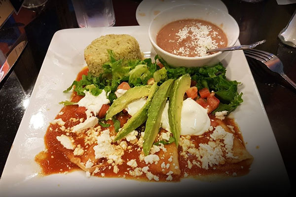 image of enchiladas jarochas by amelia's